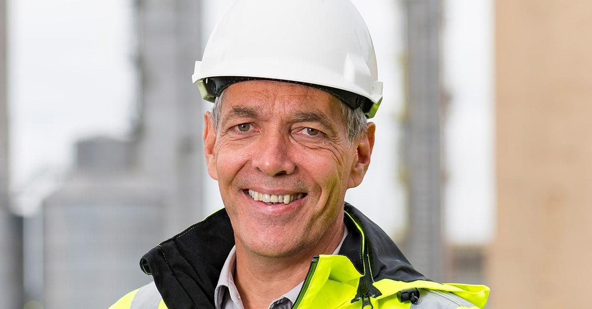 Sverre Gotaas, direktør for Herøya Industripark