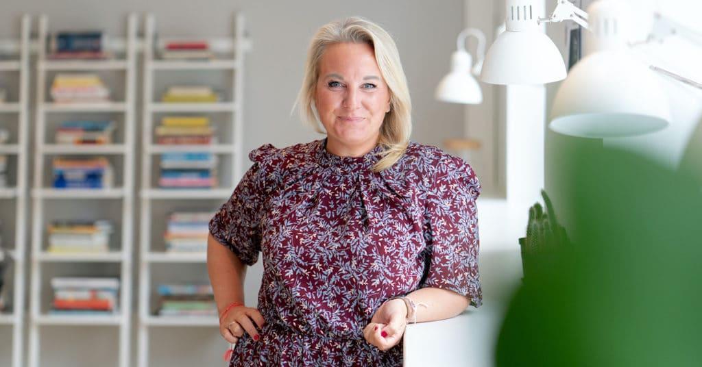 Kristin Ruud, HR-direktør i Kongsberg DIgital. Foto: Kongsberg Digital