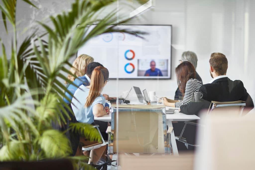 Hybrid office environment